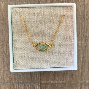 Pura Vida Evil Eye Necklace